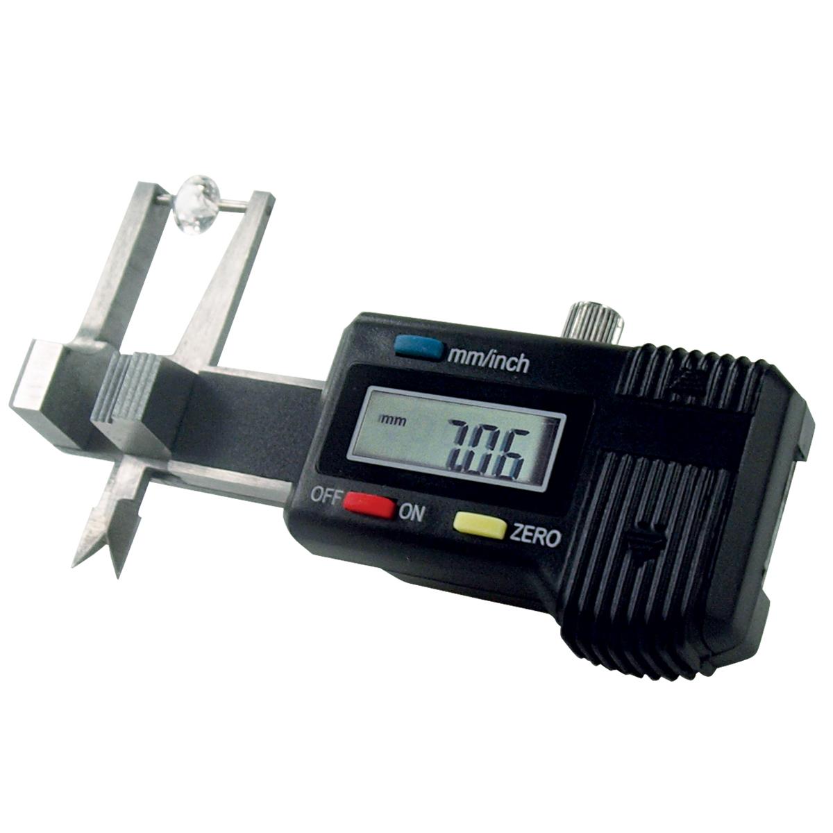 GemOro Millimeter Gauge Electronic Digital Pocket Size Gem Caliper 0.01mm-25mm